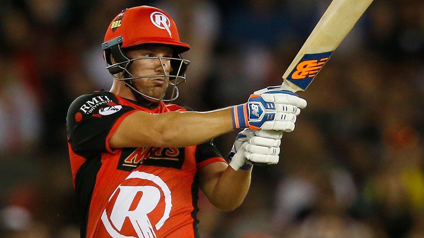 BBL: Aaron Finch shines in Melbourne Renegades' upset win over Hobart Hurricanes