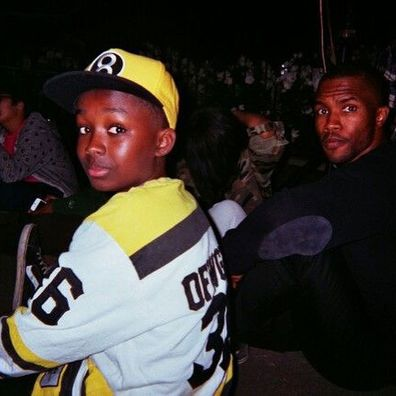 FRANK Ocean and his younger brother, Ryan Breaux.