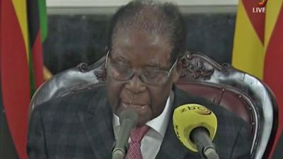 Mugabe refuses to resign as Zimbabwe leader