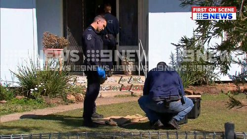 The raids were part of an investigation into a road rage incident earlier this year involving Finks bikie gang members.