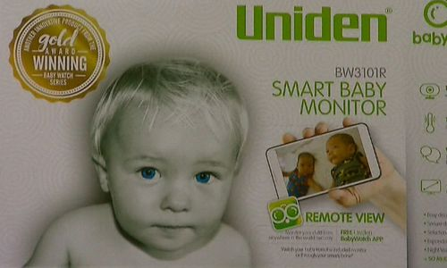 The wireless Uniden baby monitor costs $250.