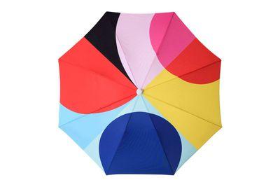 """Modernist beach umbrella, $259, <a href=""""http://basilbangs.com/product/modernist-beach-umbrella-2/"""">Basil Bangs</a>"""
