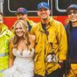 Stranded bride and bridesmaids saved by local firelighters