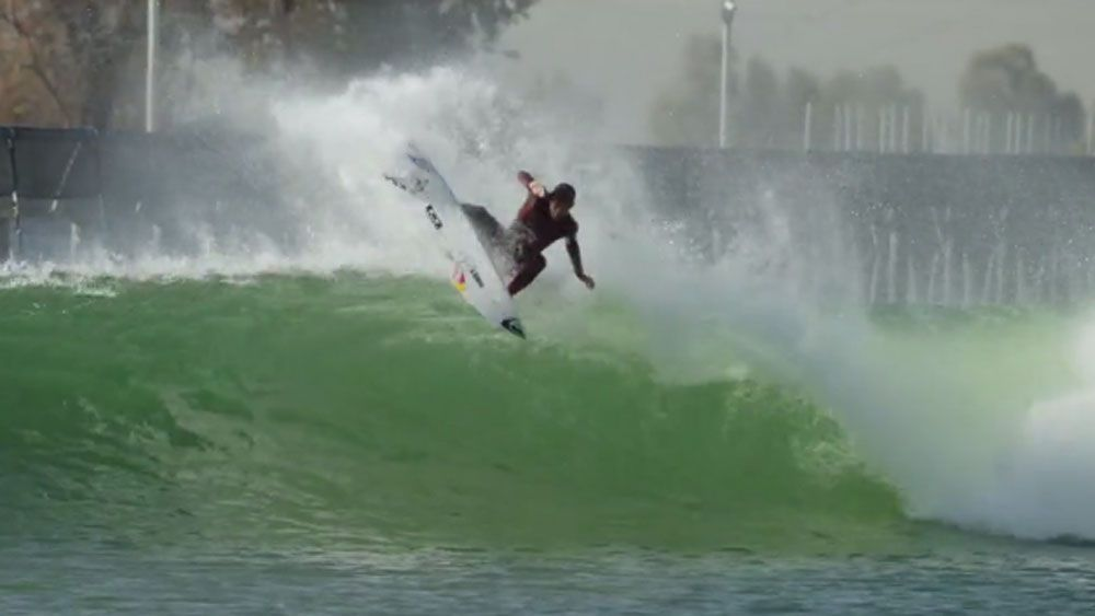 World's best surfers revel in Slater's wave pool
