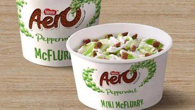Aero McFlurry returns to UK McDonalds