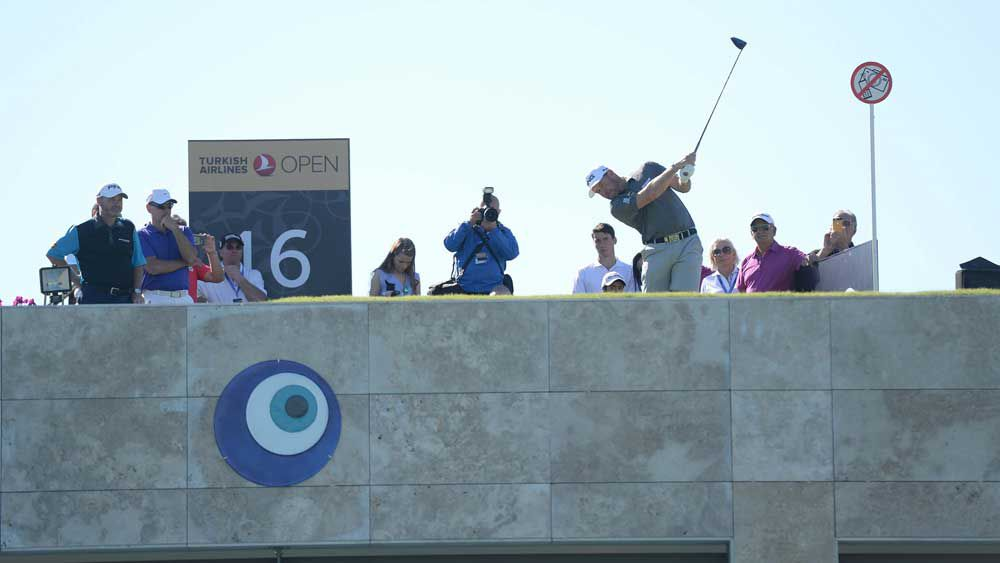 Golf: 'You want to be sober' - rooftop tee has players giddy