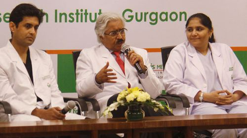 Gurgaon's Fortis Memorial Research Institute's Dr Sandeep Attawar, Dr Ashok Seth and Dr Dilpreet Brar announced yesterday that the surgery had been a success yesterday.