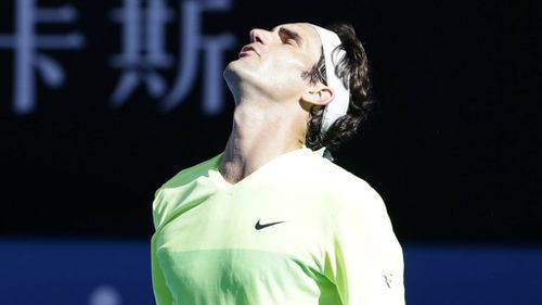 Roger Federer has been bundled out in the third round at Melbourne Park. (AAP)