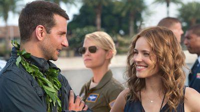 <p>Bradley Cooper, Emma Stone and Rachel McAdams in Aloha</p><p>Worldwide Gross: $37million</p><p>Cost: $53million</p>