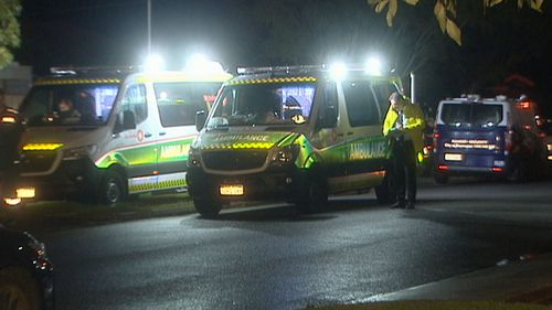 Forensic officers search house after man found dead in Perth