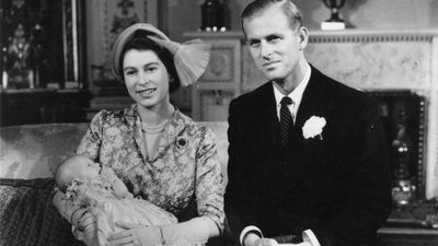 Prince Philip, Queen Elizabeth and Princess Anne