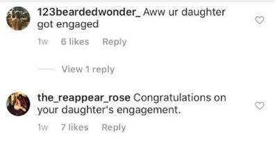Dolph Lundgren, Emma Krokdal, engaged, comments, Instagram