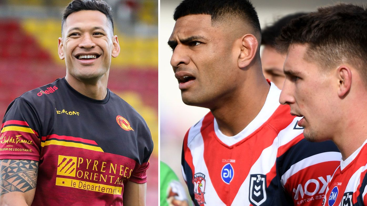 Israel Folau to train against Sydney Roosters with Catalans Dragons