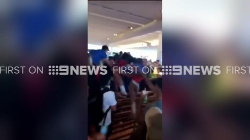 Video of the fight was posted on social media by fellow pupils. (9NEWS)
