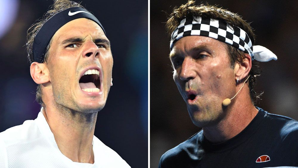 You must be choking: Cash on Nadal