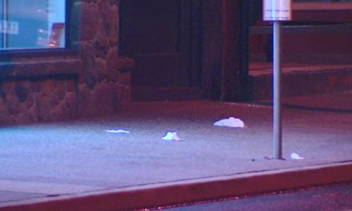 The alleged attacker is believed to be a former patient of the off-duty paramedic. Picture: 9NEWS