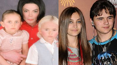 The prize for the weirdest celebrity upbringing has to go to Paris and Prince Jackson, offspring of the Prince of Pop. How creepy is this family photo? These days the Jackson kids and their little brother Blanket live with their grandmother Katherine. Teenager Paris is a budding actor who recently scored her first feature film role.