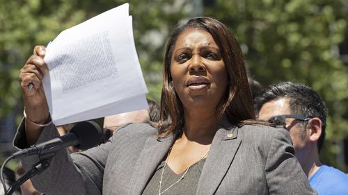 New York Attorney-General Letitia James is being sued by Donald Trump.