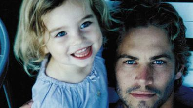 Meadow Walker and Paul Walker.