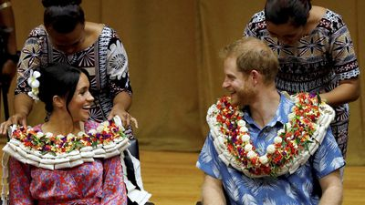 Meghan makes first tour speech in Fiji