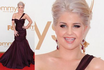 Kelly Osbourne and classy aren't two words we'd often use together in a sentence. But we're going to do it.