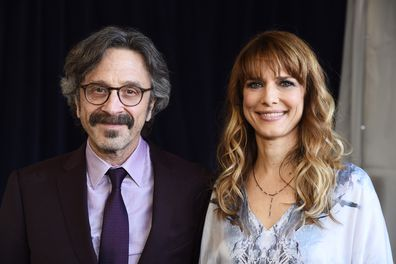 Comedian Marc Maron and director Lynn Shelton
