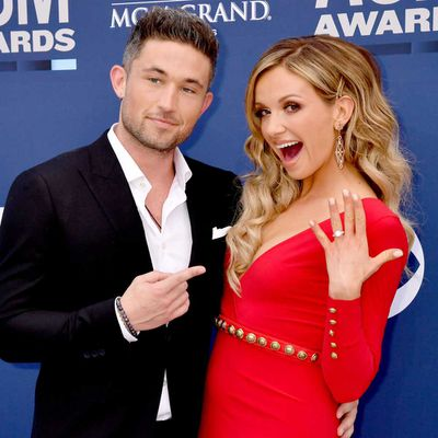 Carly Pearce and Michael Ray: Eight months