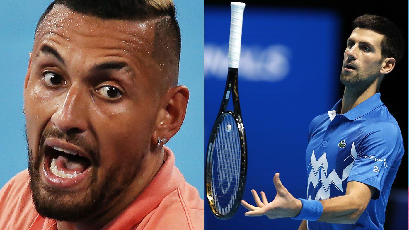 Nick Kyrgios calls Novak Djokovic 'a tool' after Australian Open quarantine wish-list