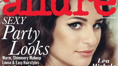 <i>Glee's</i> Lea Michele denies eating disorder: 'I can eat some b-tches under the table'