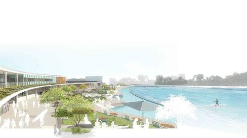 """""""It's just going to allow far greater participation for people in the sport of surfing."""" (NSW Planning)"""