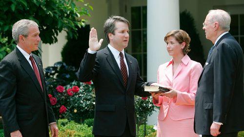 Judge Kavanaugh served under President George W Bush. (AAP)