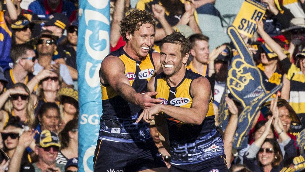 West Coast Eagles knock Melbourne Demons out of AFL finals after beating Adelaide