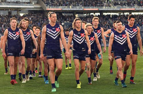 At half-time, nine Dockers players hadn't landed a tackle and by the end of the game Geelong had laid 12 more than their opponents.