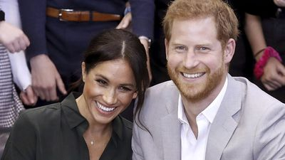 Prince Harry and Meghan Markle announce their baby news, October 2018