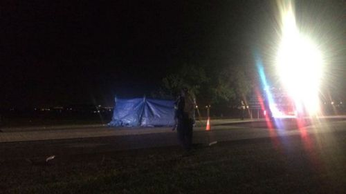 Female pedestrian killed by car after disturbance on Darwin bus