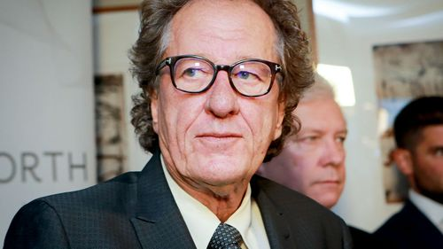 Geoffrey Rush is suing the Daily Telegraph for defamation. (AAP)