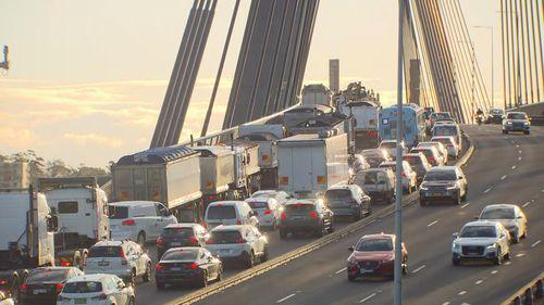 Trucks Anzac Bridge