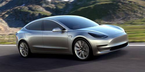 The Tesla Model 3 will hopefully hit the local market in 2019. Picture: Supplied