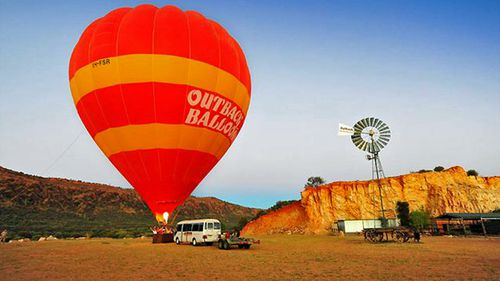The NT's Work Health Authority filed a complaint against Outback Ballooning under a section of the territory's WHS Act in 2013.