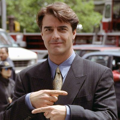 Chris Noth as Mr Big: Then