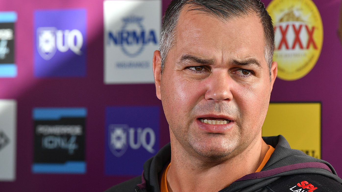 Brisbane Broncos coach Anthony Seibold slams 'dirty' South Sydney assistant