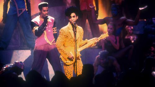 Prince performing in 1991. (Getty)