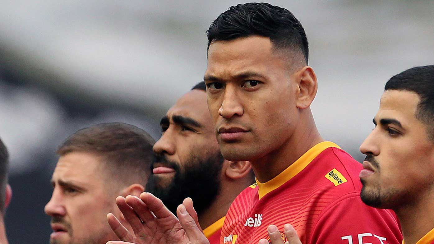 Israel Folau requests sit down with bosses in bid for NRL return
