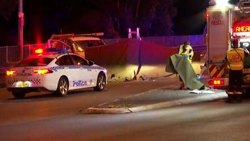 A truck driver is facing charges after a van driver was hit and killed by his own vehicle in Sydney's west last night.