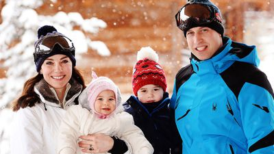 Princess Charlotte and family, March 2016
