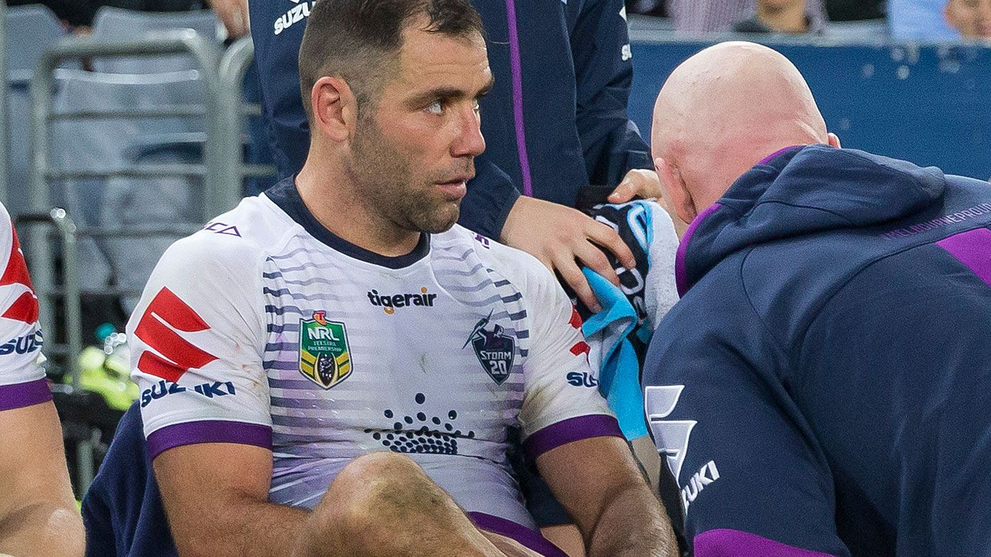Melbourne Storm captain Cameron Smith receives diagnosis after foot injury