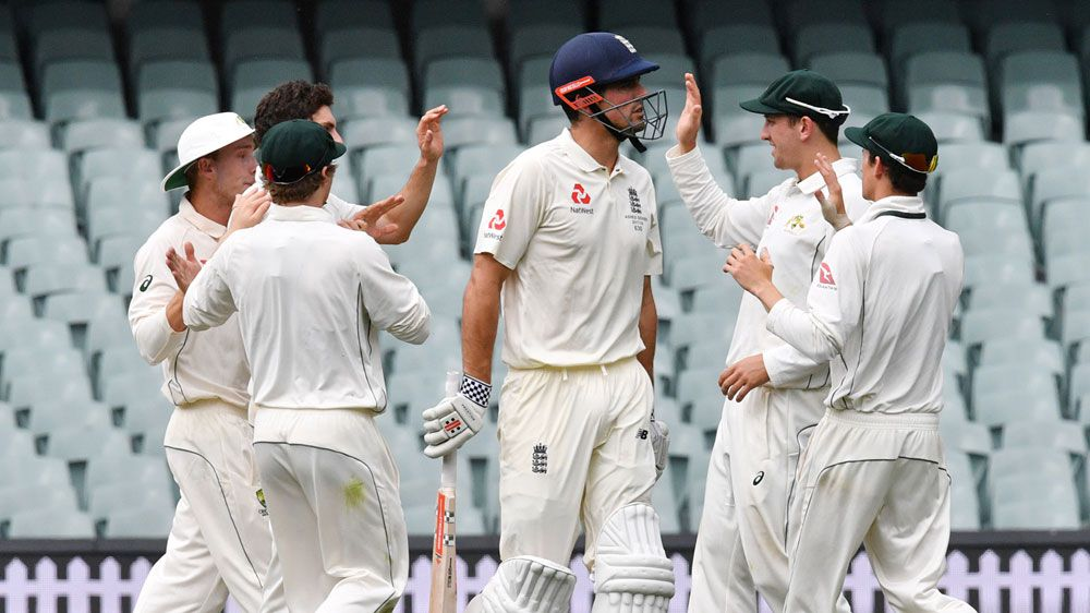 English pacemen strike back in tour game
