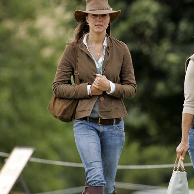 Kate Middleton at the Festival of British Eventing, August 2005
