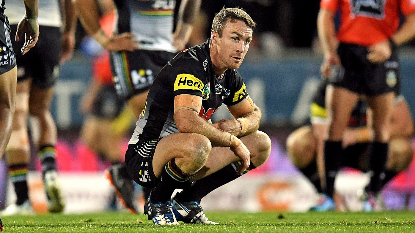James Maloney defended by Penrith Panthers coach Anthony Griffin