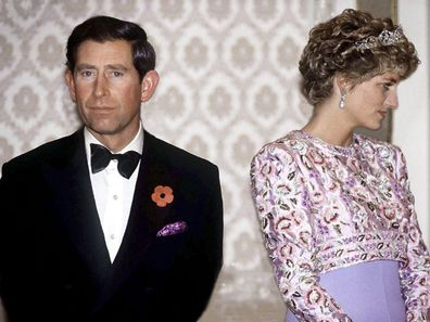 Prince Charles And Princess Diana On Their Last Official Trip Together - A Visit To The Republic Of Korea ahead of split.